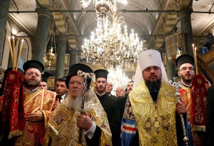 İstanbul'da Ukrayna Ortodoks Kilisesi için tarihi gün