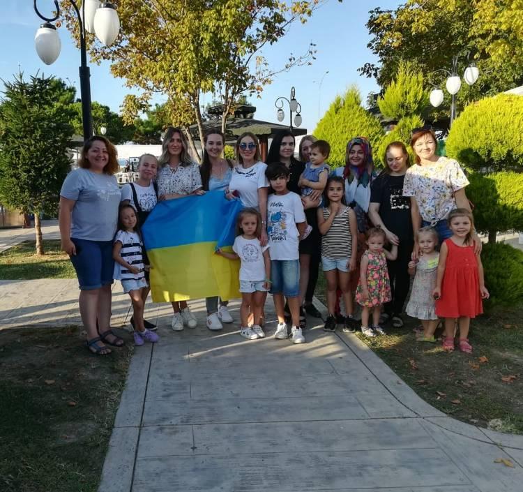 Традиції до Дня Незалежності України в м. Самсун