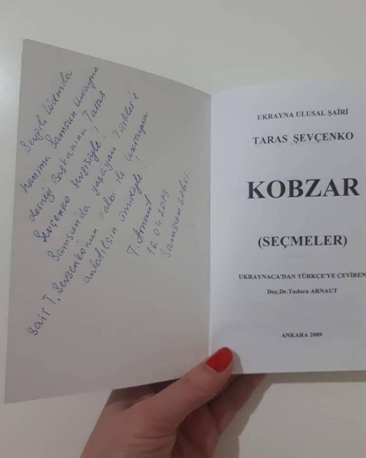 Відома поетеса і перекладачка «Кобзаря» Тудора Арнаут відвідала Самсун