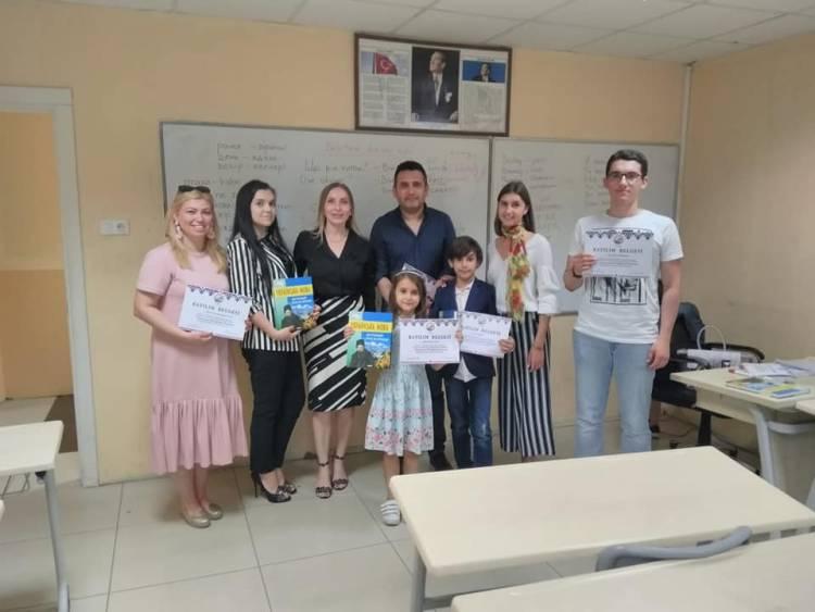 Закінчився перший семестр курсів української мови в Самсуні: досягнення і враження!
