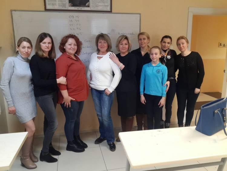 В Самсуні діаспора відкрила курси турецької мови