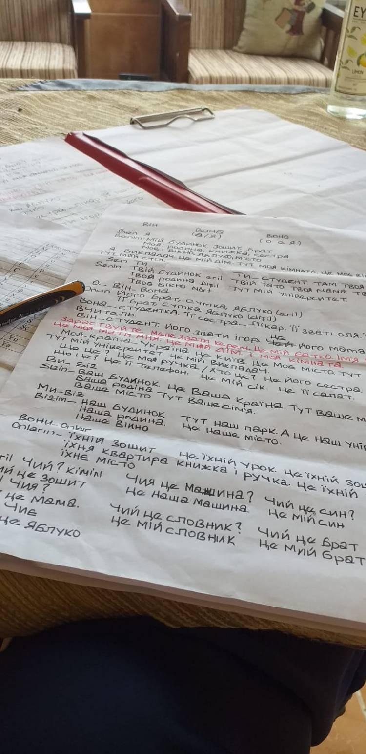 Українська мова в Туреччині: студенти в Самсуні навчаються креативно