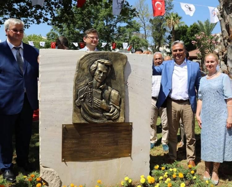Урочисте відкриття барельєфа Т. Г. Шевченку в Анталії